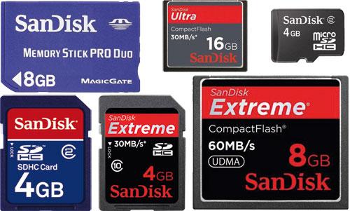Karty Pamieci Sandisk Micro Sdhc 4gb Micro Sdhc 8gb Micro Sdhc