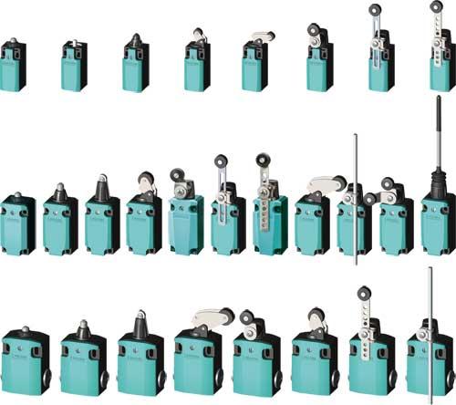 Wyłączniki krańcowe serii 3SE5-M, 3SE5112-0BB01, 3SE5112-0BC02, 3SE5112-0BD02, 3SE5112-0BE01  PL 