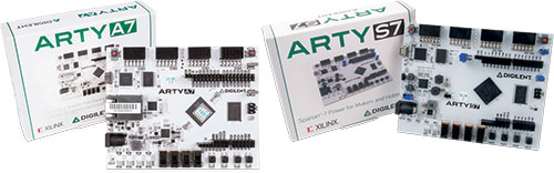 ARTY development boards by DIGILENT for FPGA, 410-352, 410-319-1 |EN|