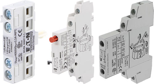 NO x2 side Series PKZ EATO AGM2-10-PKZ0 Signalling contacts Auxiliary contacts