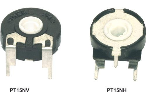 2 PCS Piher Trimmer Preset Potentiometer 22K//25K Ohm PT15V V-Mount