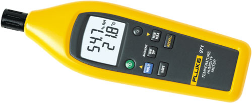 Fluke Humidity Probe : Fluke temperature and humidity meters series flk