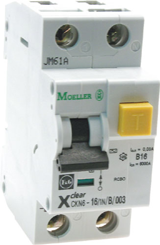 CKN6 residual current circuit breakers with overcurrent protection