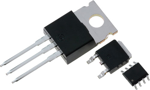 Tranzystory mosfet firmy infineon irf irf520nspbf for Le transistor