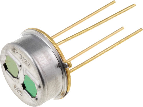 Dual thermoelectric sensors, TPS2534G1/G20, TPS2534G2/G20 ...