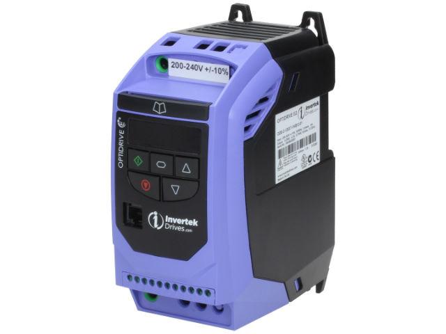 Ode 2 22110 1kb42 01 invertek drives inverter tme for Single phase motor inverter