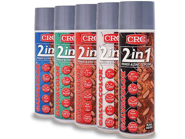 Meuble Femina Chambre Bebe : Peinture zinc couleur sur un fond CRC GALVACOLOR  Transfer Multisort