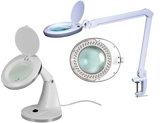 Lampade innovative da banco con lente d'ingrandimento nell'offerta della TME ...