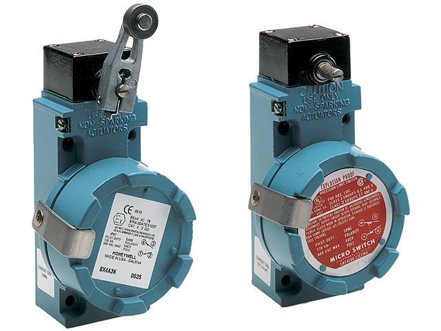 BX Series explosionproof limit switches Honeywell Transfer