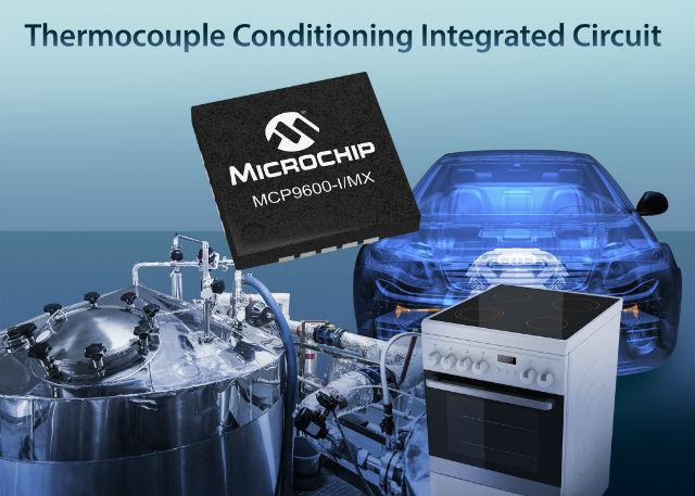 Microchip Technology MCP9600-I/MX temperature transducer