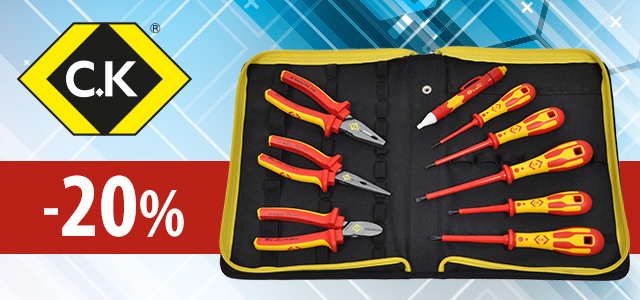 Selected tools from Carl Kammerling up to 20% off!