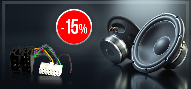 Car Audio products up to 15% off at TME!