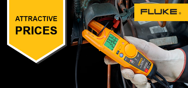 Selected Fluke products available at attractive prices!