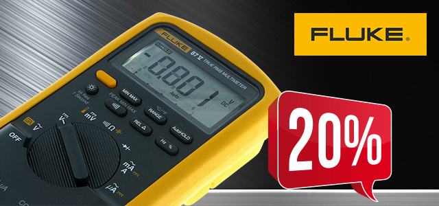 FLUKE FLK-87V digital multimeter up to 20% off!
