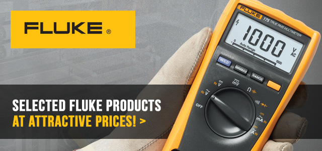 Selected Fluke products at attractive prices!