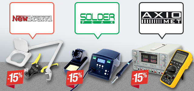 Selected workplace equipment up to 15% off!