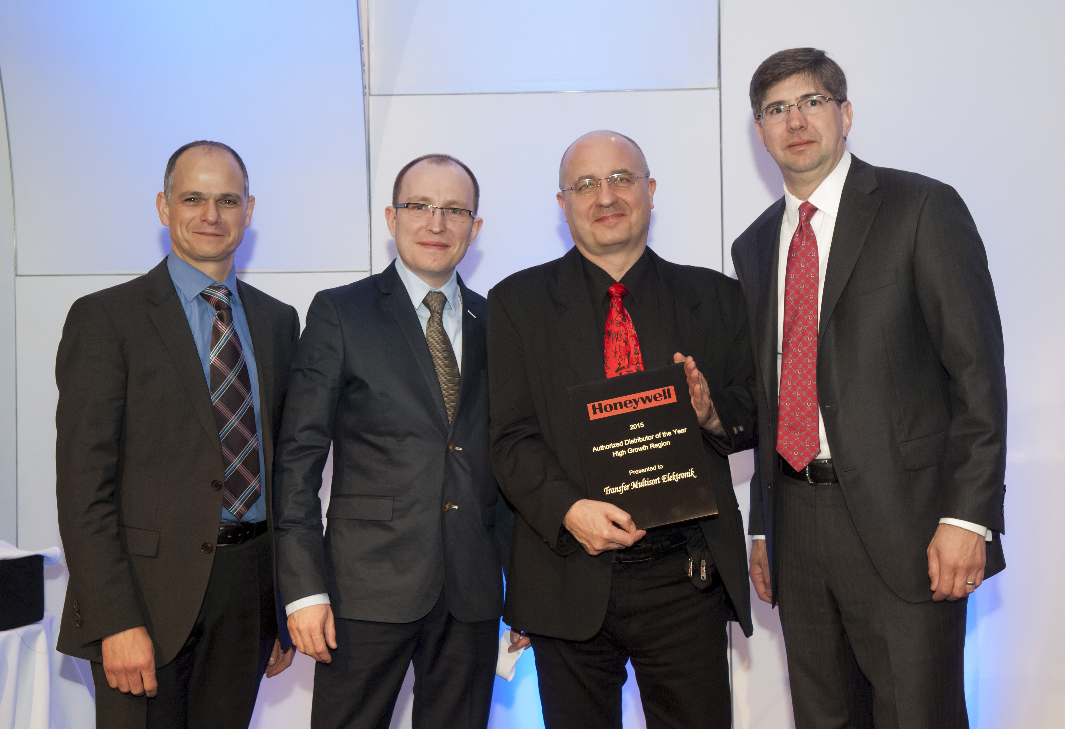 TME receives an award from Honeywell